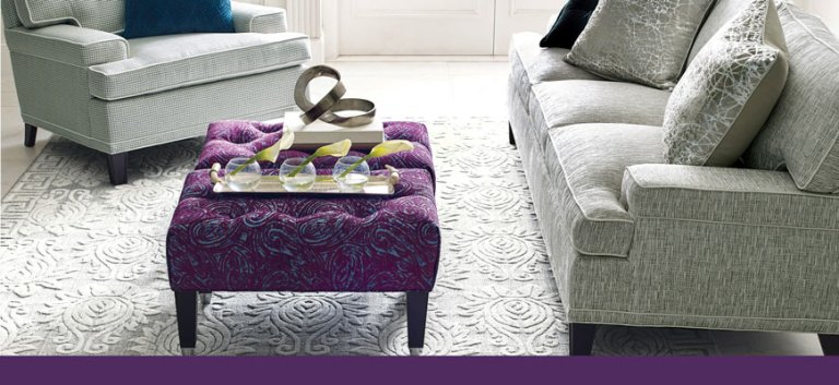 colorful-accent-rug-purple-ottoman-cusotm-sofa-furniture