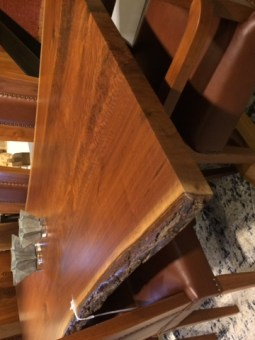 Live edge table CH Interior Designs
