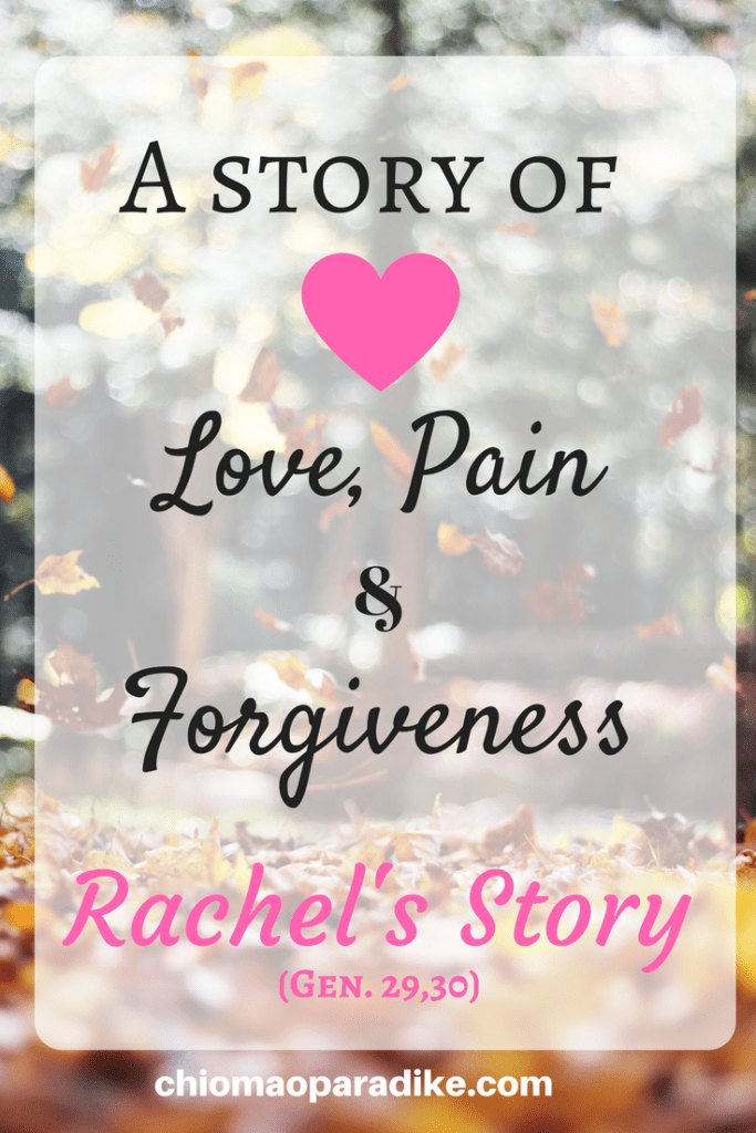 Have you ever wondered what it must have been like for Rachel when Jacob married her sister, Leah instead of her? Here is a brief narration of Rachel's story