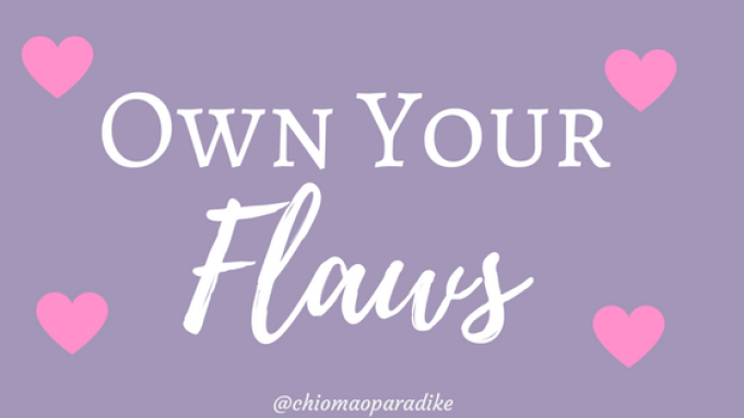 Are you afraid to let the world see your imperfections? Are you hiding your true self? It's time to own your flaws.