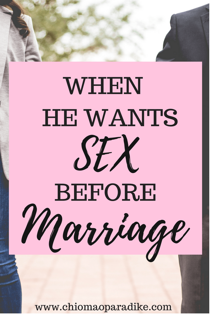 Why doesnt god want us to have sex before marriage