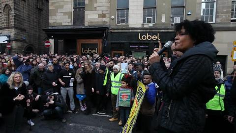 Chi's speech at Newcastle Unites march