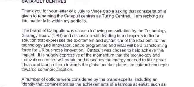 Catapult Centres