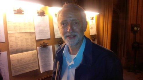 Corbyn nominated