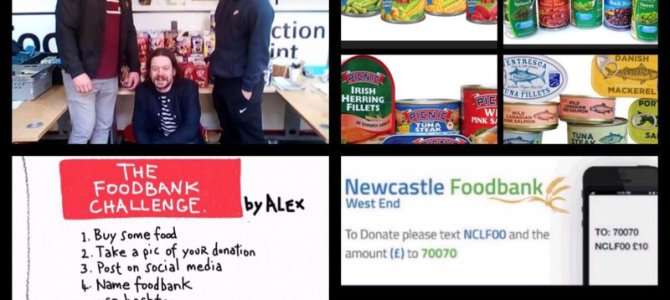 NUFC Fans Foodbank Appeal