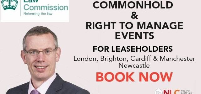 Law Commision consultation in Newcastle on Common Hold