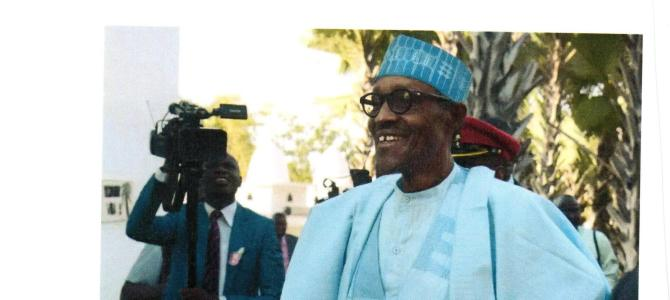 Open letter to President Buhari of Nigeria