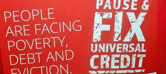 Chi speaks out against Universal Credit