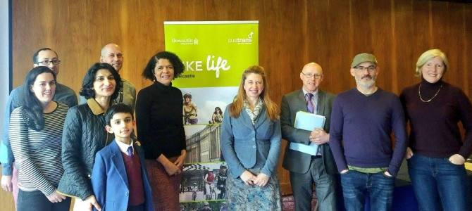 Local businesses & organisations on how cycling improves the city & wellbeing