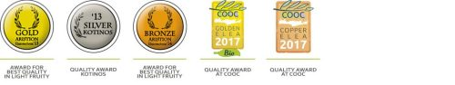 Cretan Olive Mill awards 2