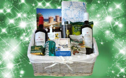 Kerstpakket Griekse producten