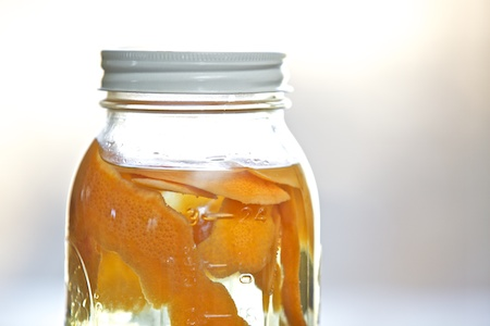 grapefruit infused vinegar 2