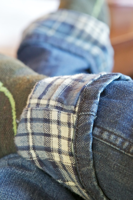 flannel lined jeans 1