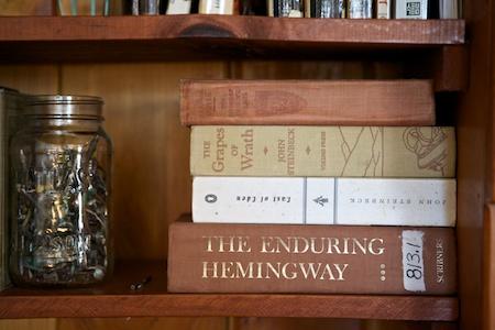 my library shelf