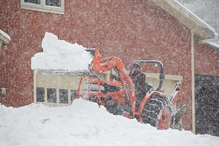 Cleaning up the Snow 1
