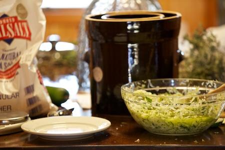 fermenting zucchini 1