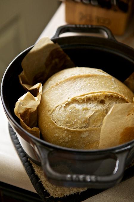 bread in cast iron