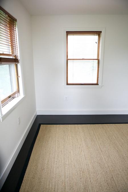 bedroom floor