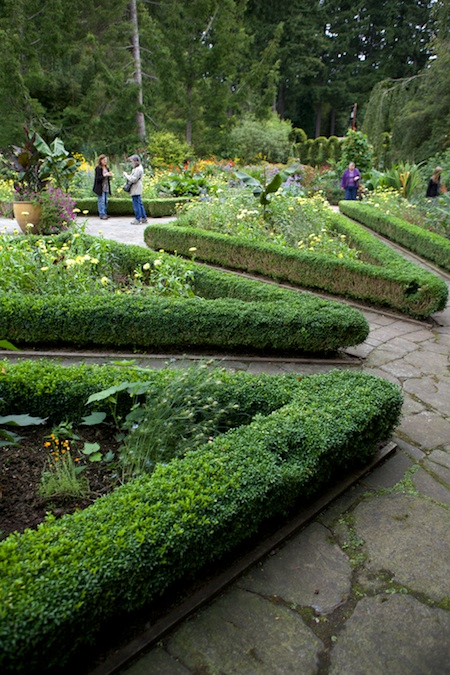 Heronswood formal garden 3