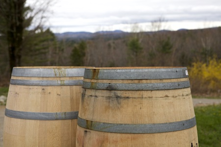 wine barrels for rain barrels 1