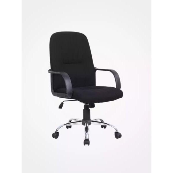 High Back Fabric Swivel Office Chair