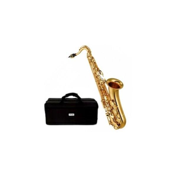 Yamaha Tenor Saxophone With Accessories - Gold Tenor Sax
