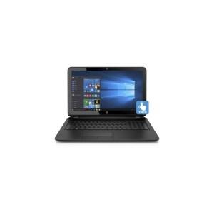 HP Notebook 15-bs015dx-TOUCHSMART-Core i5-7200U-8GB RAM-1TB HDD-Wins 10 - Black