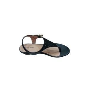 Nine West Women's Leather Dress Sandal