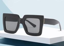 Black Big Frame Sunglasses
