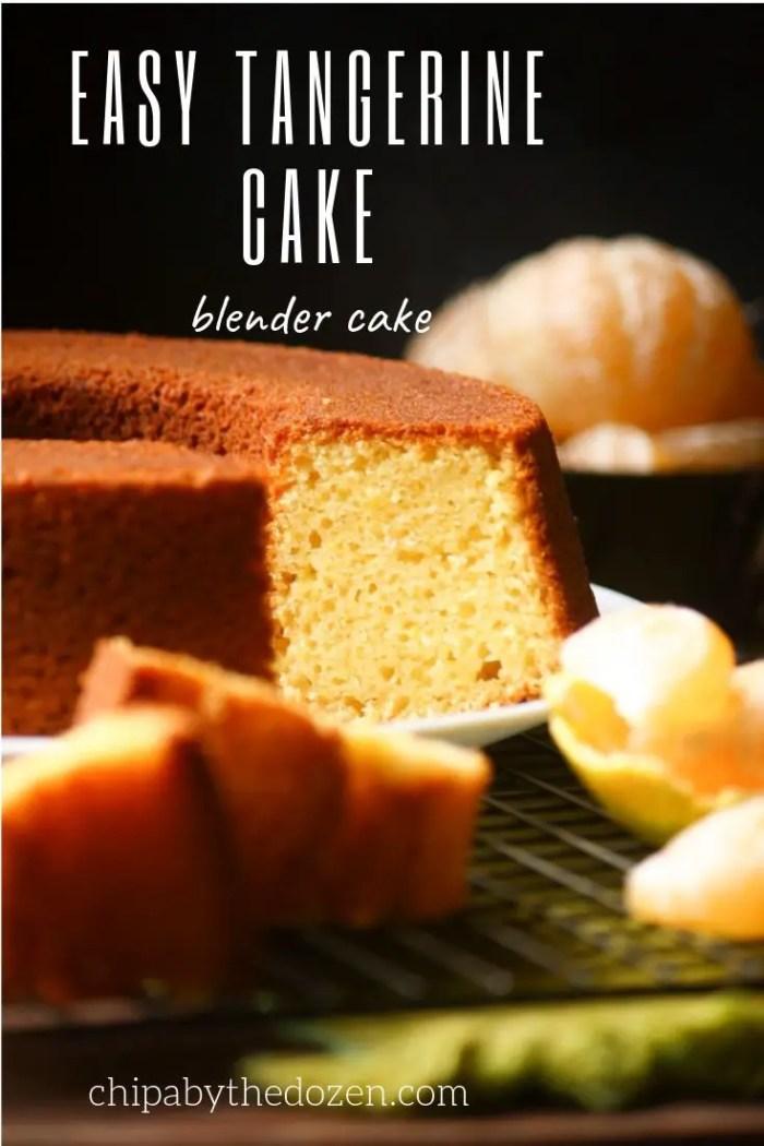 Easy Tangerine Cake