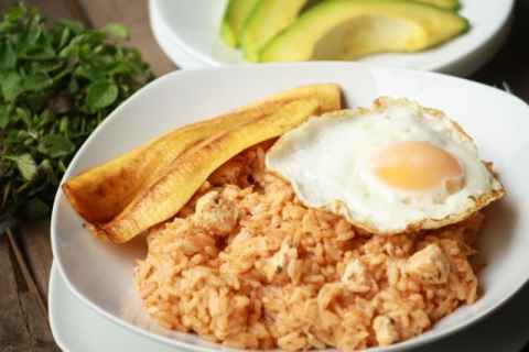 Majadito Batido de Pollo (Bolivian Chicken and Rice)