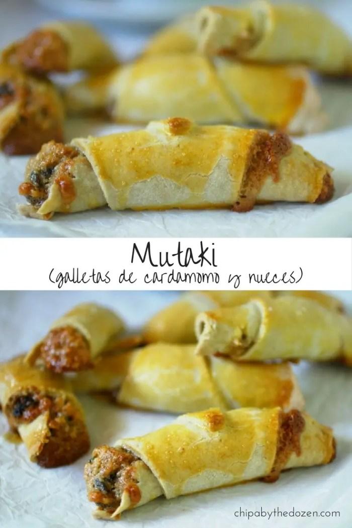 Mutaki (galletas de cardamomo y nueces