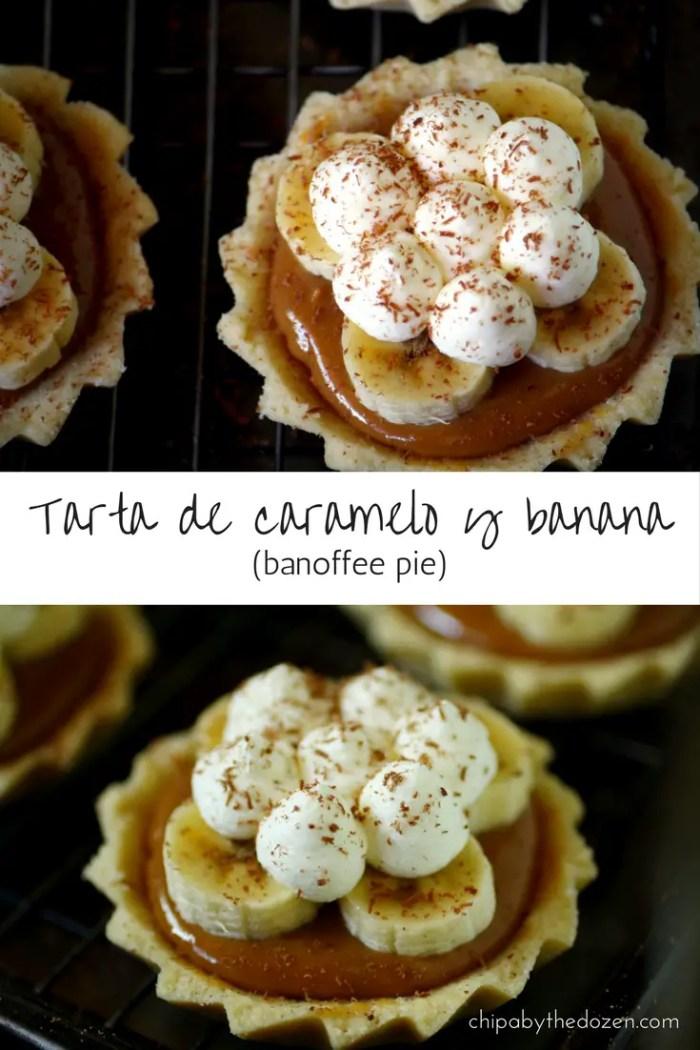 Tarta de caramelo y banana (banoffee pie)
