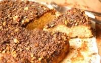 Coffeecake de Banana y Mantequilla Dorada