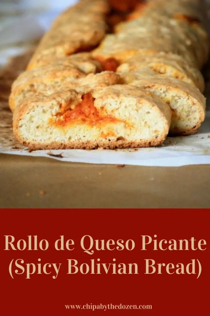Rollo de Queso Picante (Receta Boliviana)