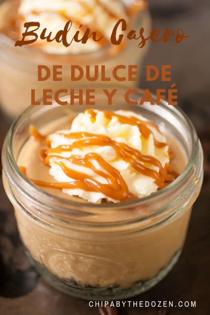 Budín Casero de Dulce de Leche y Café