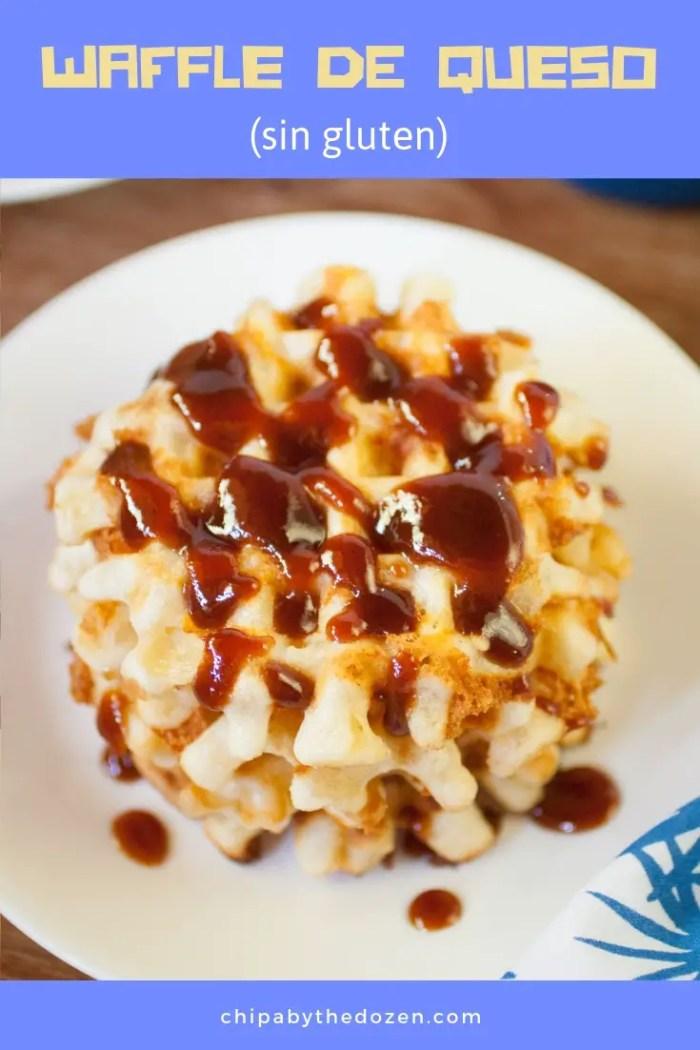 Waffles de Queso sin Gluten