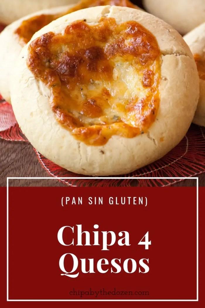 Chipa 4 Quesos (Pan sin Gluten)