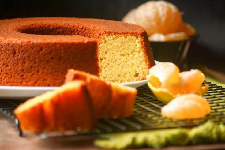 Torta de Mandarina en Licuadora