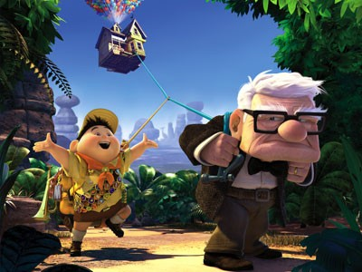 UP Exhibit & Characters at Walt Disney World Hollywood Studios