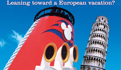 Disney Cruise Line European Vacation