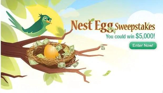 Disney's Nest Egg Sweepstakes