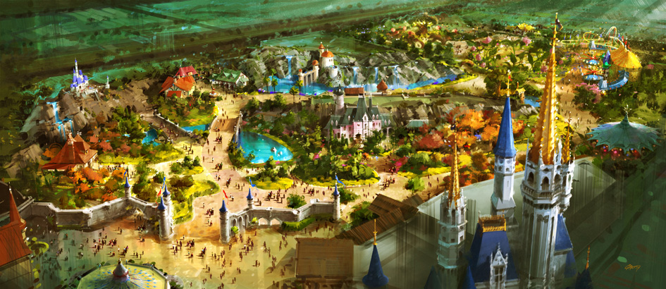 Fantasyland – Extreme Makeover at Disney World by 2013