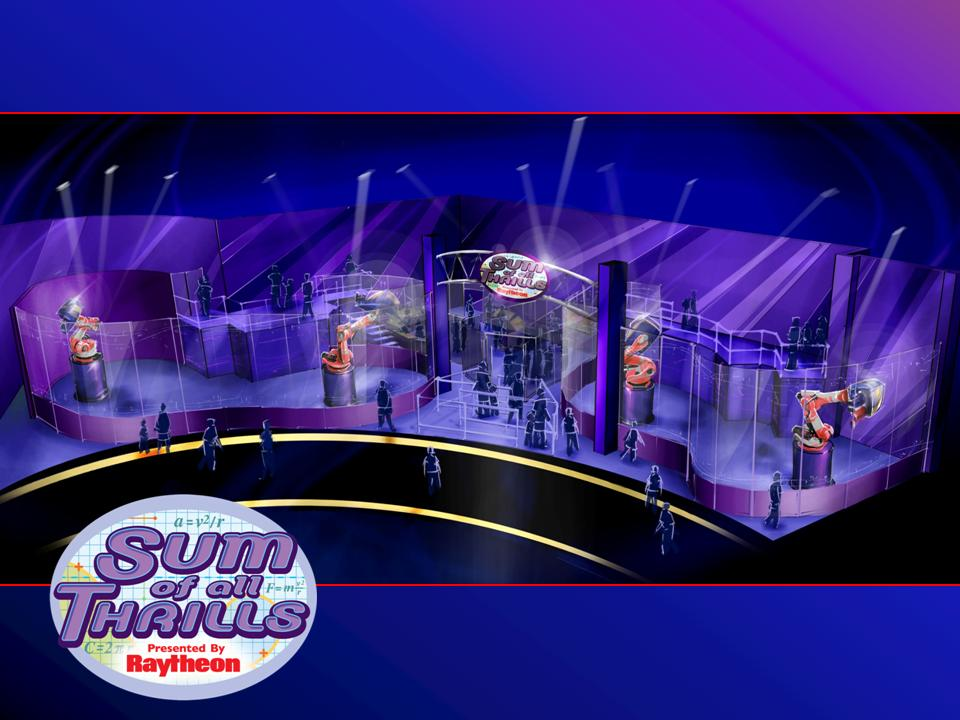 Raytheon Company to unveil The Sum of All Thrills at Epcot