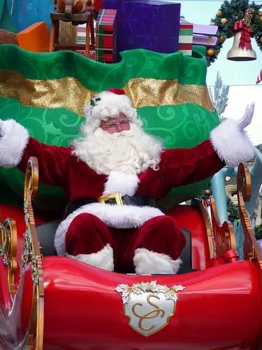Where to find Santa at Disney World