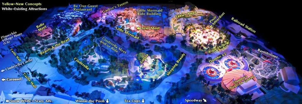 New Fantasyland 3D Model