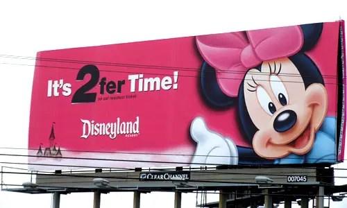 Disneyland So-Cal 2fer Commercial x 2