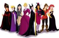 Disney Pic of the Day - Disney Princesses as their movie villains