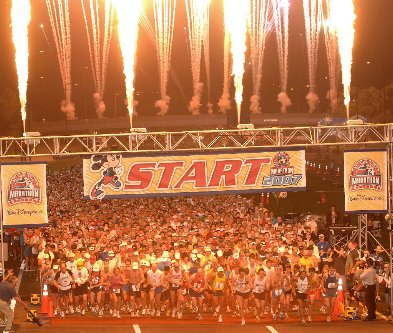 2010 Walt Disney World Marathon Highlights