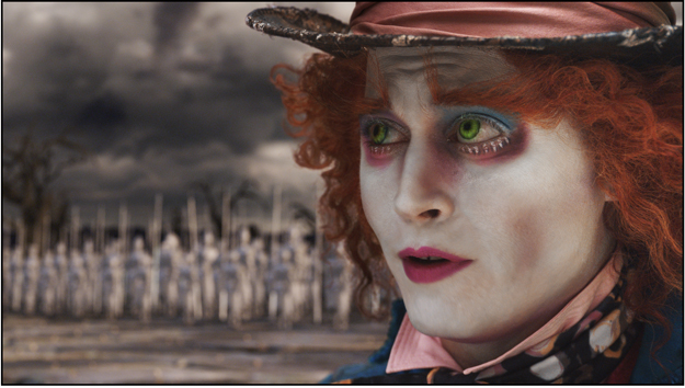 Johnny Depp goes 'Mad As a Hatter' for Role